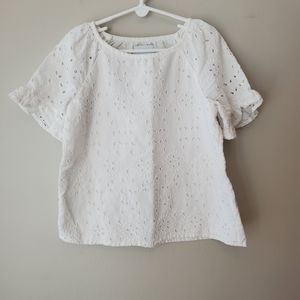 💥Kids💥Old Navy eyelet top size small